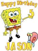 Spongebob Birthday Shirts