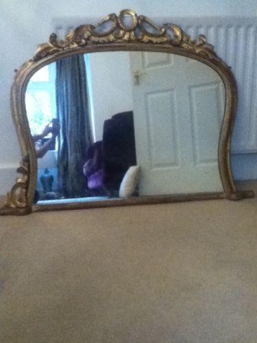mantel mirror ebay. Black Bedroom Furniture Sets. Home Design Ideas