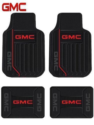 Gmc Floor Mats >> Gmc Logo Floor Mats Ebay
