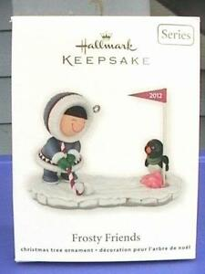 hallmark christmas ornaments frosty friends