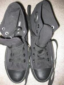 bb08404afe45 Women s Black Converse High Tops