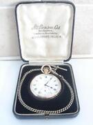 J w Benson Pocket Watch