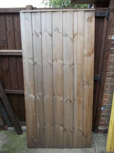 6ft Wooden Gate Ebay