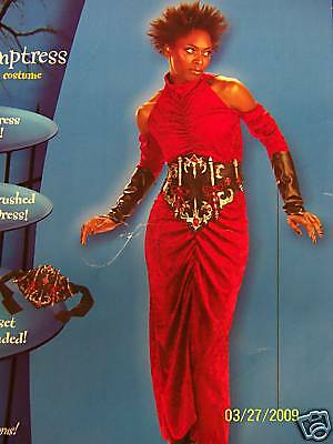 Temptress Gothic Devil Adult Costume - Up to Size - Devil Temptress Costume