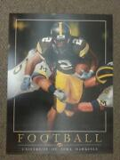 Iowa Hawkeyes Football Poster