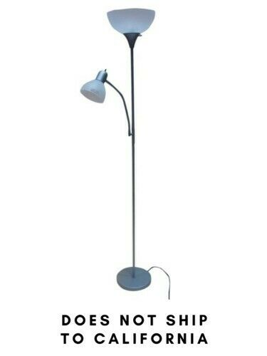 **FREE SHIPPING** Mainstays 72'' Combo Floor Lamp with Adjus