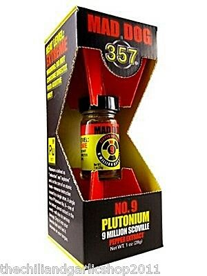 Mad Dog 357 Plutonium Pepper Extract Food Additive - EXTREMELY Hot 9 Million SVU