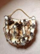 River Island Faux Fur Bag