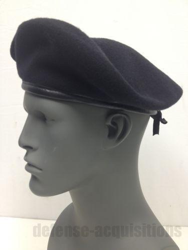 Military Black Beret  Clothing 353842e91