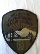California Sheriff Patches