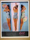 Pink Print Ad Clothing Advertising (1950-1979)