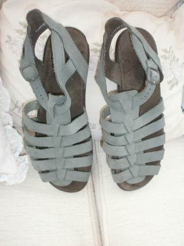 Luxury CLARKS Springers Womenu0026#39;s 8 EU 37 BEIGE Taupe Buckles COMFORT Sandals | EBay