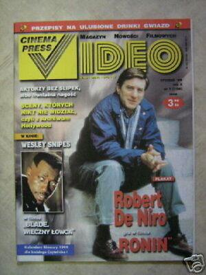CINEMA PRESS VIDEO 01 (1/99) ROBERT DE NIRO SNIPES