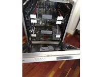 SHARP QW-D21I492X Full-size Integrated Dishwasher RRP £229.99