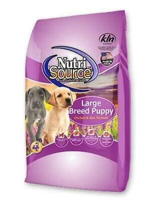 NutriSource® Large Breed Puppy Chicken & Rice Formula Dog Food 30 -