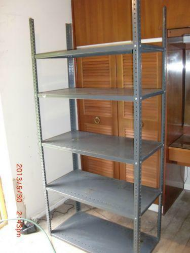 Metal Shelving Unit Ebay