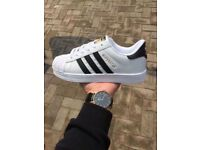 ** BRAND NEW ! ADIDAS SUPER STAR TRAINERS,SIZE UK 6.5 FOR SALE **