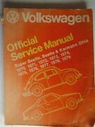 Volkswagen Service Manual