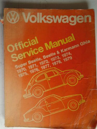 Volkswagen service manual ebay fandeluxe Images