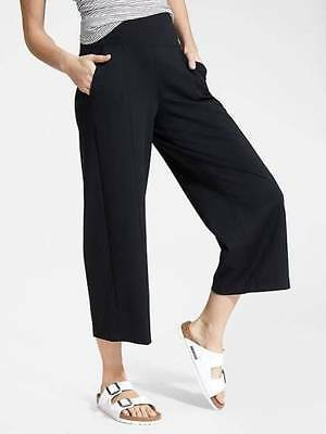 NWT Black S Small  Athleta Globetrotter Ankle Crop Pant Adventure Travel