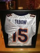 Tim Tebow Signed Jersey