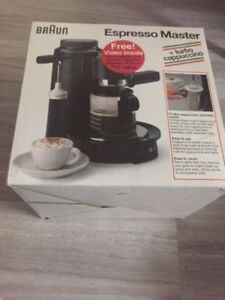 Cafetiere Braun Espresso E250T Model 3062 Made in Italy
