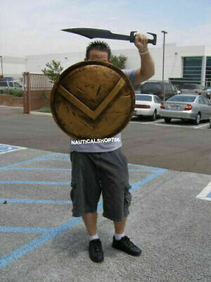 Replica FULLY Functional Historical 24' Medieval Armor   ONLY 300 Spartan Shield](Spartan Shield)