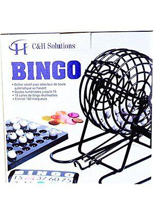 Complete Bingo Game Set, Rotary Cage With Automatic Bingo Set Bingo Cage Set