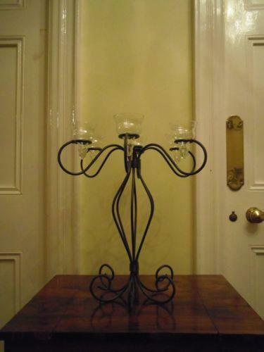 Wrought Iron Candelabra Home Furniture Amp Diy Ebay