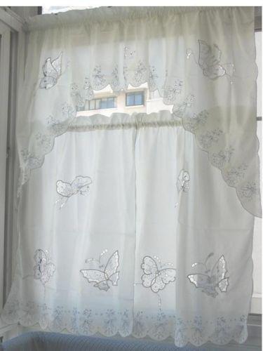 Kitchen Curtains Swag Ebay