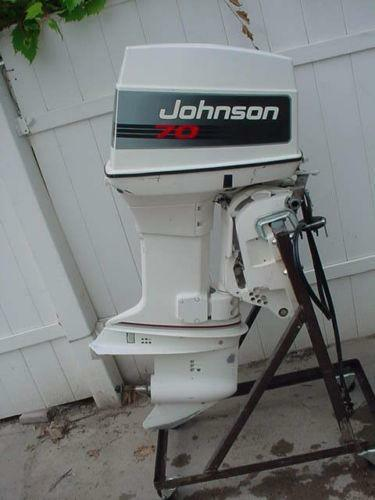 70 hp johnson outboard motor ebay 1989 Johnson 70 HP Outboard 1978 70 hp johnson outboard motor manual