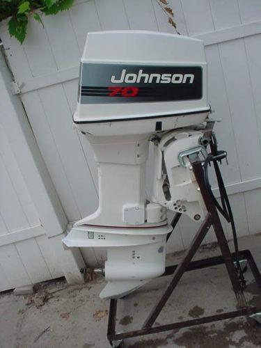 1999 25 Hp Johnson outboard motor Maintenance Manual