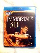 Immortals 3D Blu Ray