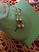 Tiffany Pearl Earrings