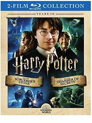 Harry Potter and the Sorcerer's Stone / Chamber of Secrets [Blu-ray]