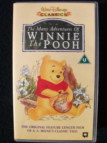 The Many Adventures of Winnie The Pooh VHS | eBay