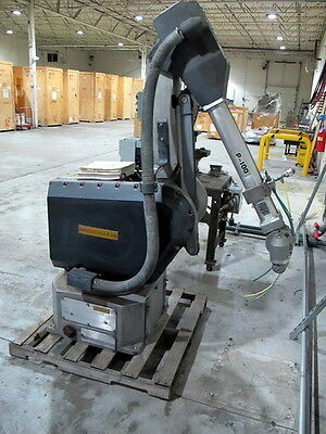 1995 Fanuc P-100 Painting Robot Wfanuc System R Mdl.h Controller Teach Pendant