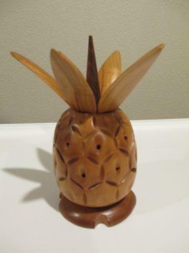 Wood Pineapple Collectibles Ebay