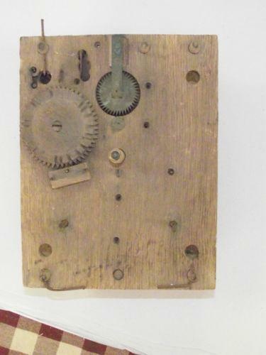 Wood Movement Clock Ebay