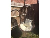 Hanging Chair and Cushion