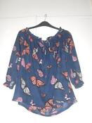 Dorothy Perkins Butterfly Top