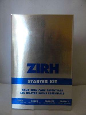 ZIRH STARTER KIT-4 SKIN CARE ESSENTIALS-CLEAN 4.2 OZ+SCRUB 3.3+CORRECT -