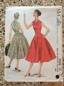 1950s Womens Dress Pattern