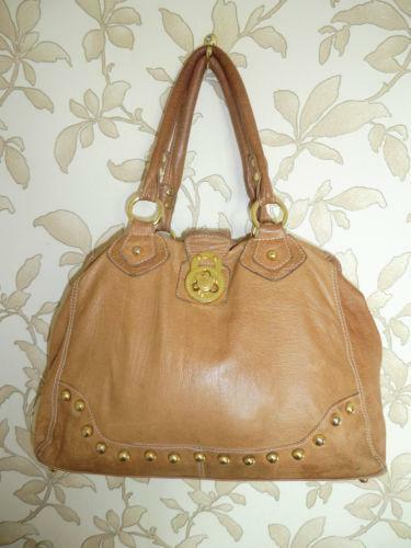 River Island Tan Leather Bag  d85cf5bfdd8e1
