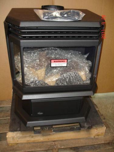 Free Standing Gas Fireplace Ebay
