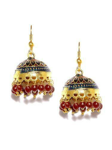 Indian Jhumka Earrings Ebay
