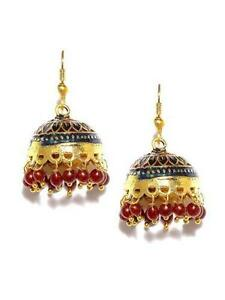 Indian earrings ebay indian jhumka earrings mozeypictures Image collections