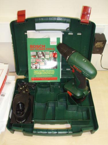 bosch psr 14 4 cordless drills ebay. Black Bedroom Furniture Sets. Home Design Ideas