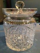 Waterford Biscuit Jar