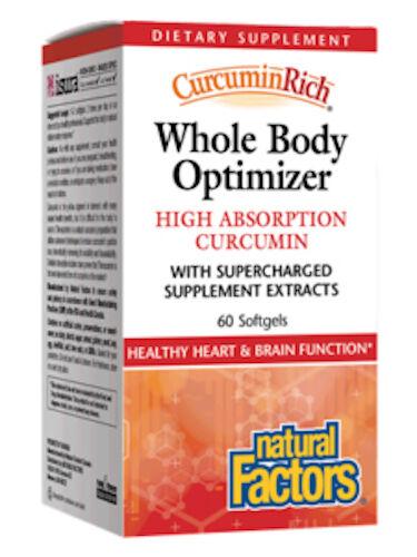Natural Factors Whole Body Optimizer 60 Softgels